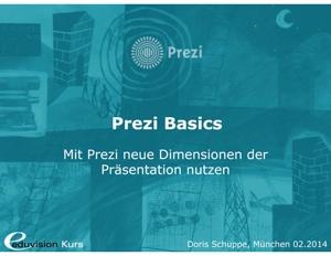 Titel Seminar Prezi Basics