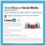 """Screenshot Artikel """"SmartBlog on Social Media"""""""