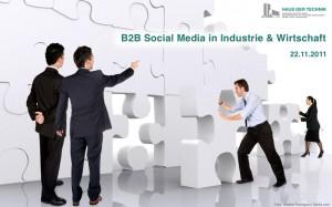 Visual B2B Social Media Tagung HDT München