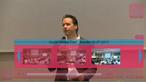 Screenshot Steuerung Video