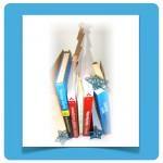 Illustration Bücher Social Media :: Mobile Internet