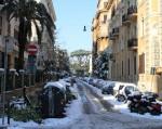 Via Brescia / Rom Schnee :: Foto: DoSchu.Com