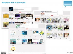 Pinterest B2B :: Beispiele 3/4