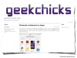 pinterest post doschu :: geekchicks.de