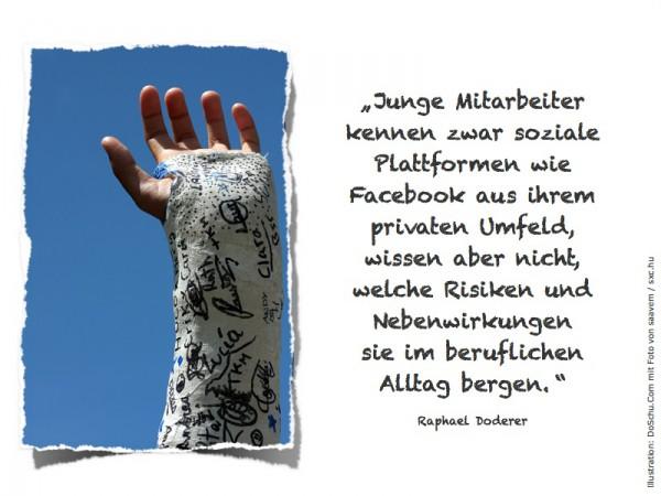 Junge Mitarbeiter :: Doderer Zitat (Foto: saavem / sxc.hu)