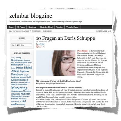 Interview DoSchu :: Screenshot zehnbar blogzine