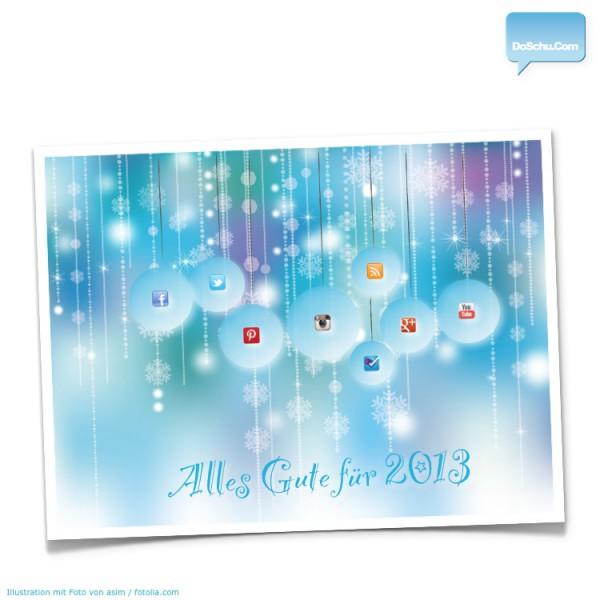 DoSchu.Com wünscht Happy New Year 2013