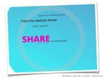 Vortrag Online Reputation :: Share
