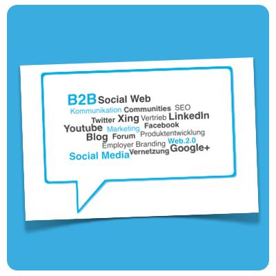 B2B Social Media (Illustration)