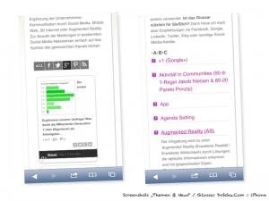 Smartphone Social Media Newsroom / Glossar