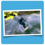 surfing summercamp illustration