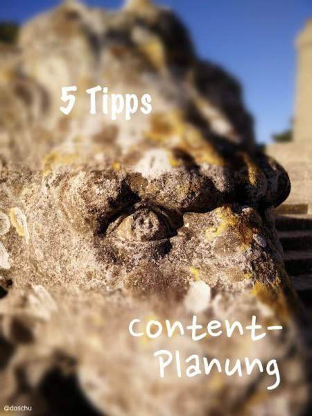 illustration Tipps Content Planung