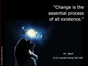 Change :: Mr. Spock