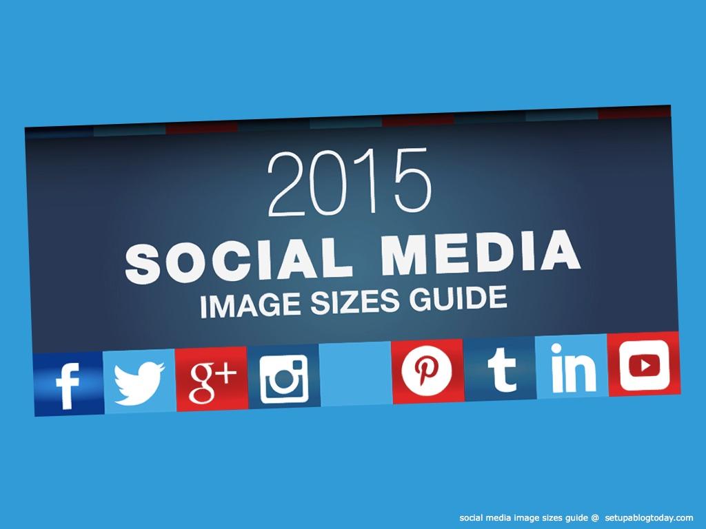 Header Infografik Social Media Image Sizes Guide