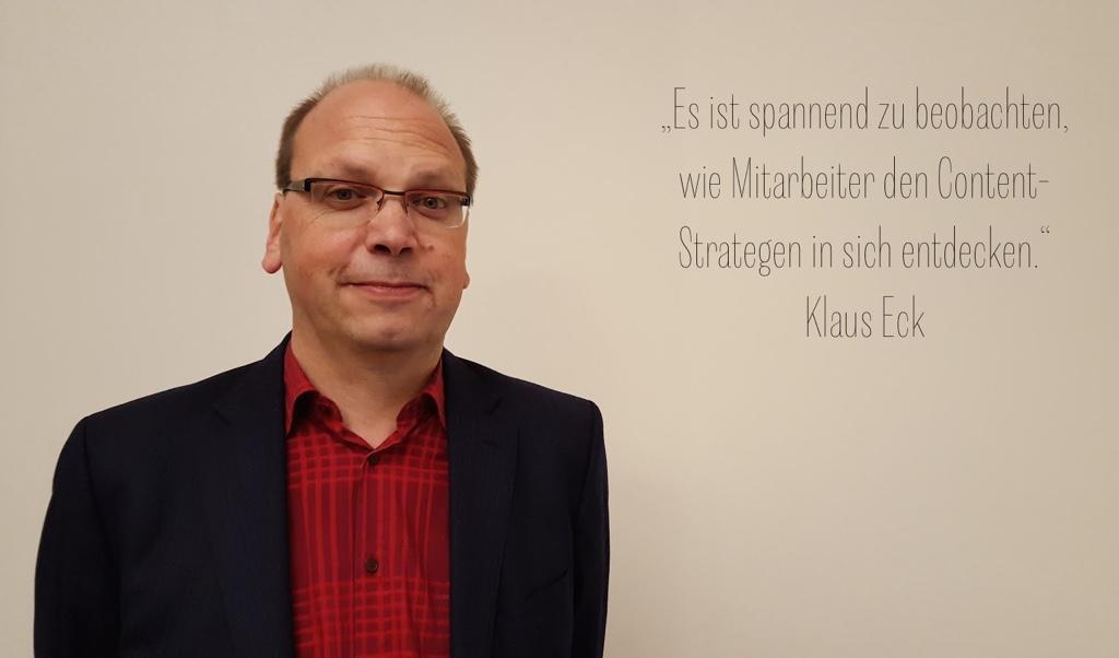 Content Strategen - Klaus Eck