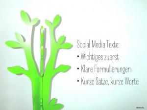 Texte in Social Media