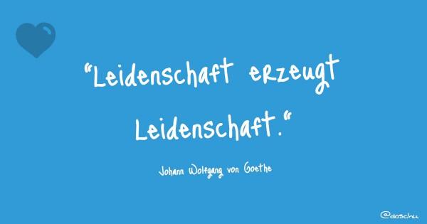 Goethe Leidenschaft