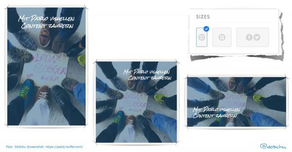 Bildformat Varianten pablo