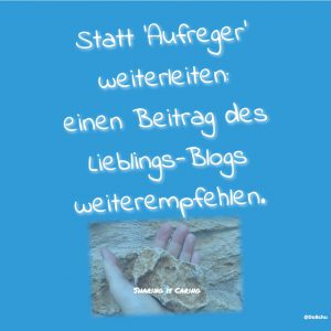 Sharing is Caring Empfehlung