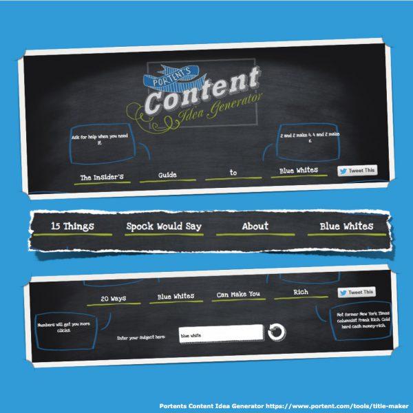 Portents Content Idea Generator