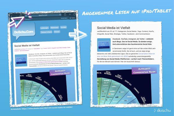 Lesetip Tablet / iPad
