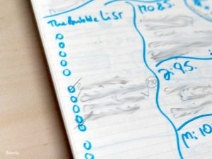 journaling bubble list