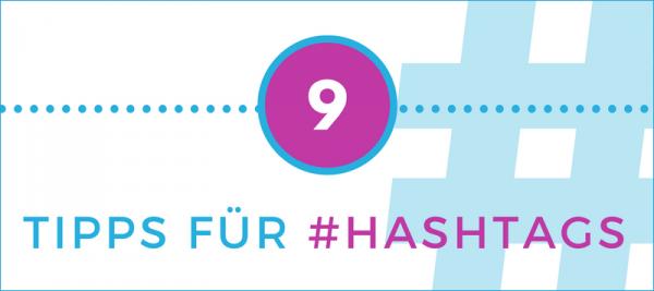 Titelgrafik hashtag Tipps