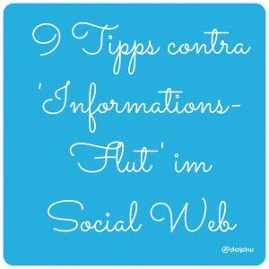 illustration 9 Tipps contra Informationsflut im Social Web