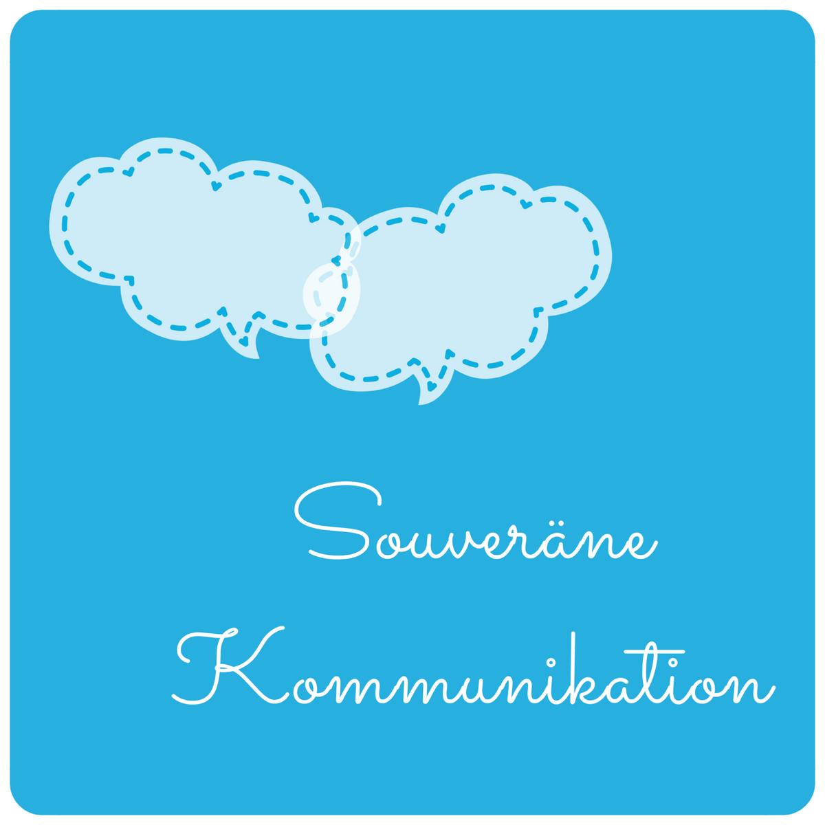 blogillustration souveräne Kommunikation
