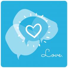 Love Blog Illustration