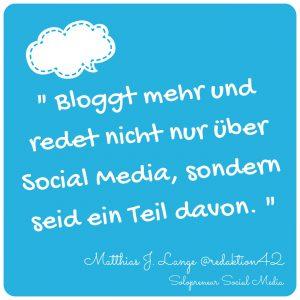 Solopreneur Social Media Zitat