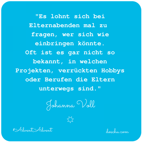 Johann Voll - Eltern