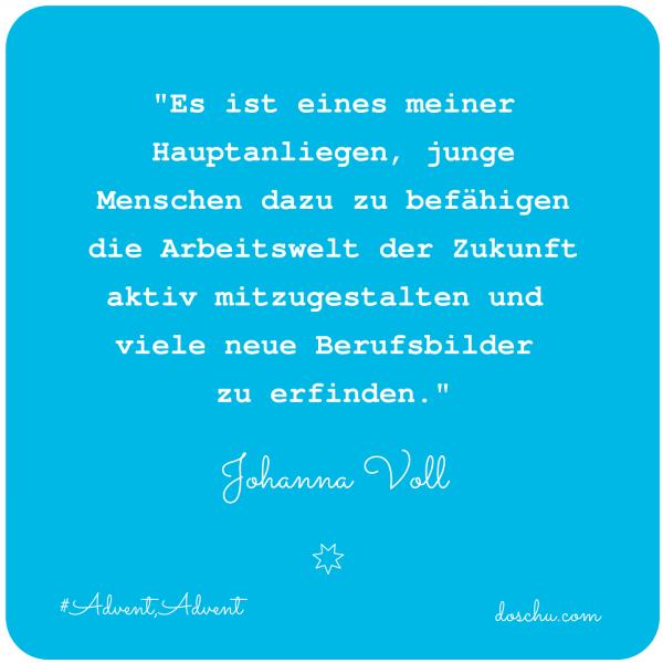 Johanna Voll - Zukunft