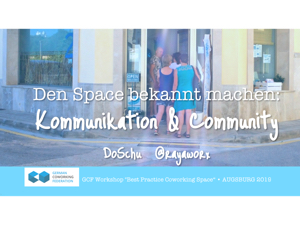 Impuls Titel Kommunikation & Community