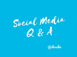 Social Media Q&A Titel