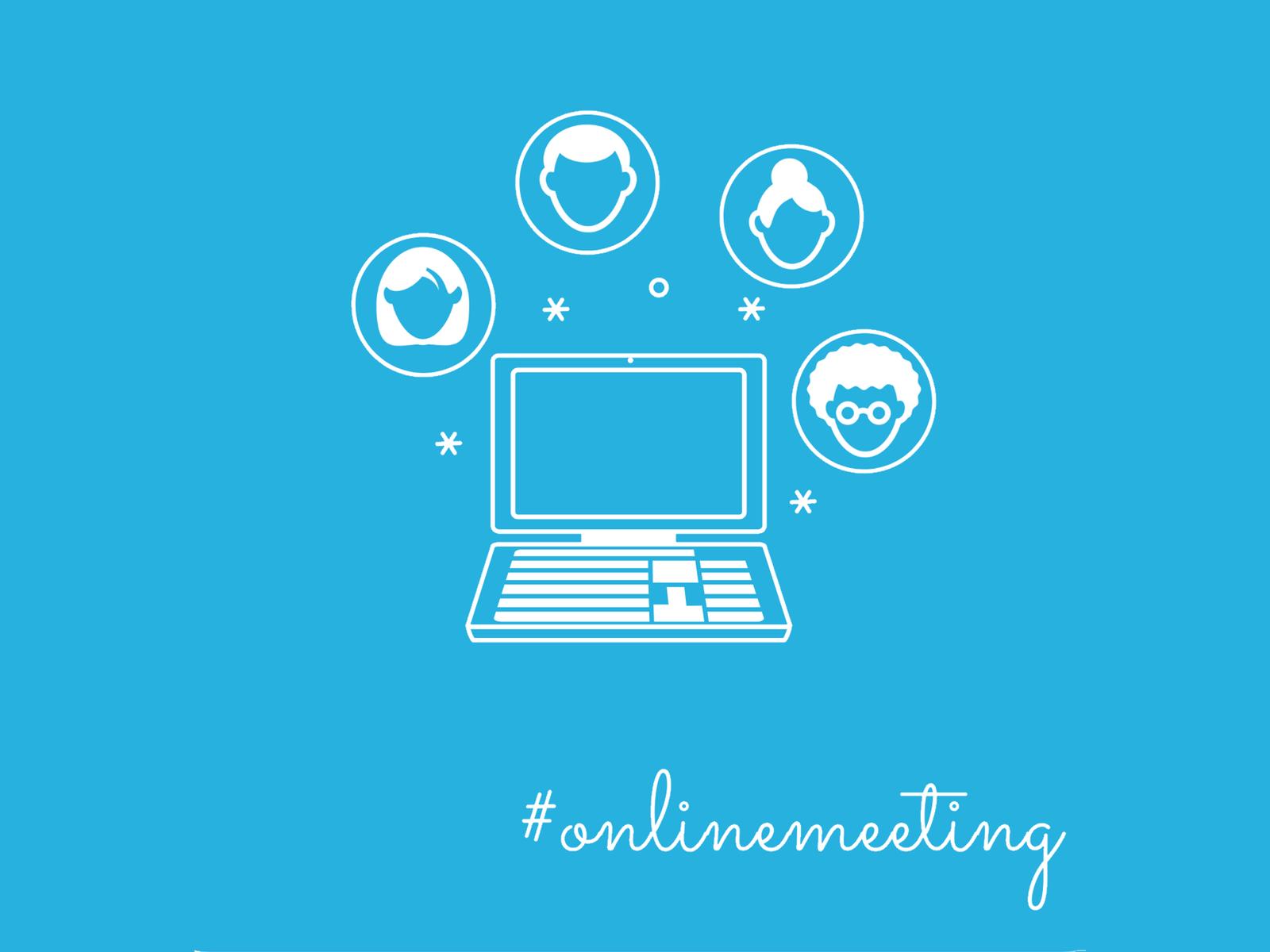 Online Meeting DoSchu Blogillustration